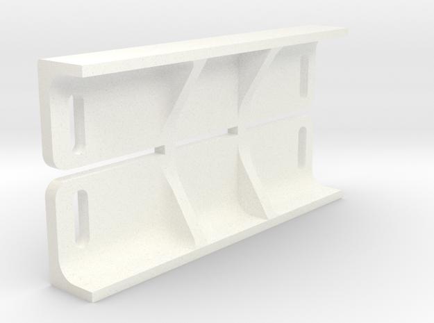 spoportes carroceria scaleauto una pieza in White Processed Versatile Plastic