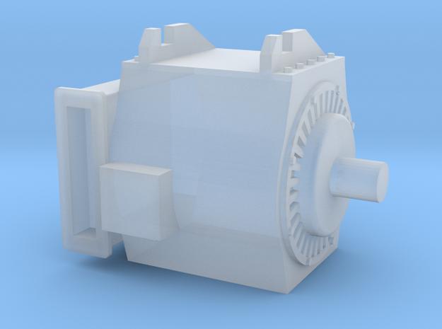 Motor für moderne E-Lok einzeln - 1:120 TT in Smooth Fine Detail Plastic