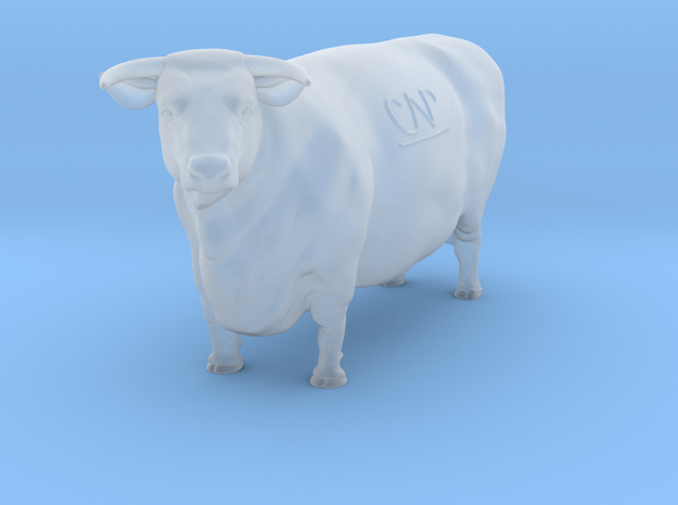 1/87 Hereford Cow 01 in Frosted Ultra Detail