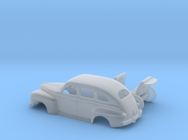 Ford Fordor (Staff Car) 1942 (1:64) in Smooth Fine Detail Plastic
