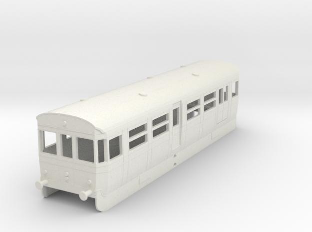 0-87-but-aec-railcar-driver-brake-coach in White Natural Versatile Plastic