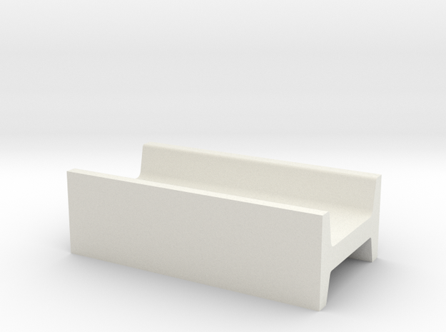 1/64 H feed bunk  in White Natural Versatile Plastic