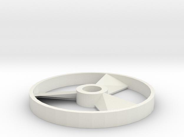 Imaginext-DC Super Friends - Batmobile Drone Disc in White Natural Versatile Plastic