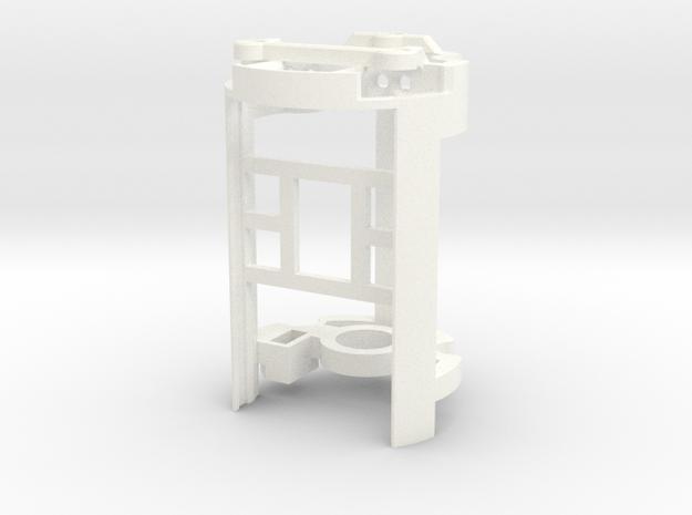 DV6 - Part (4/7) BoardHolder (Prizm V4/ V5) in White Processed Versatile Plastic