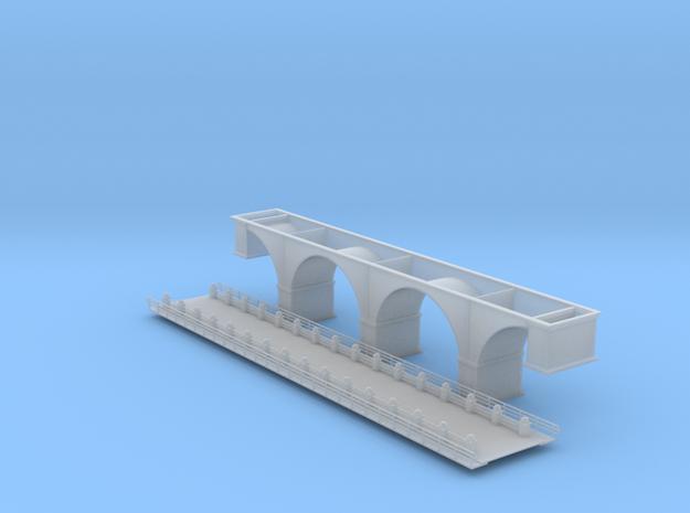 137 Ft Arch Bridge Z Scale