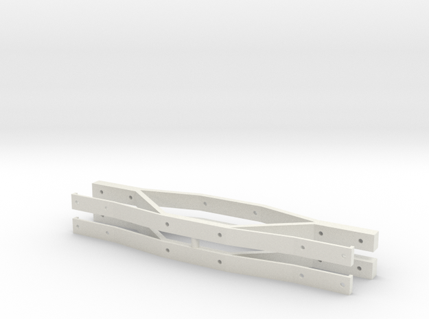 L&Y Bogie Sideframes in White Strong & Flexible