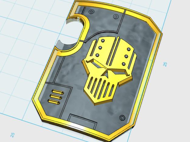 5x Iron Heads - Terminator Wall Shields