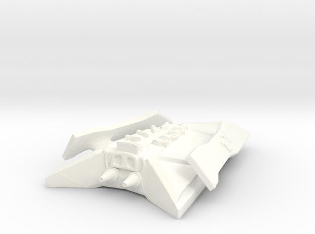 Robotic Cruiser in White Processed Versatile Plastic