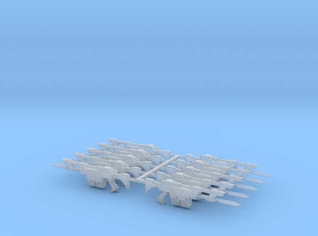 Merovech Lasgun (10 Pack) in Smooth Fine Detail Plastic