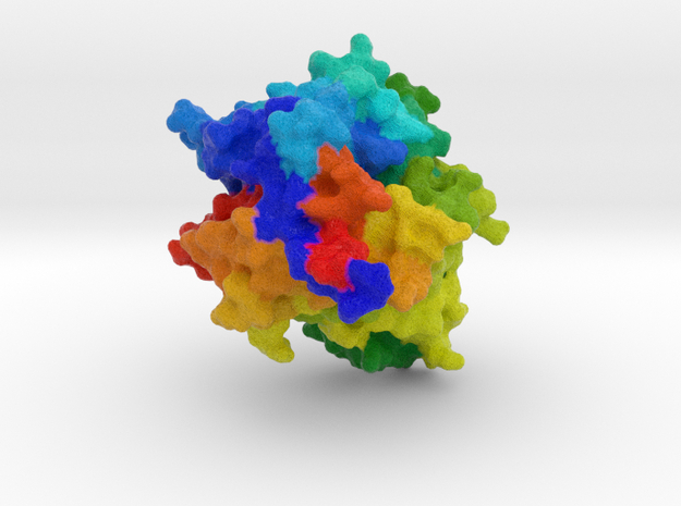 Hemagglutinin Measles Virus in Full Color Sandstone