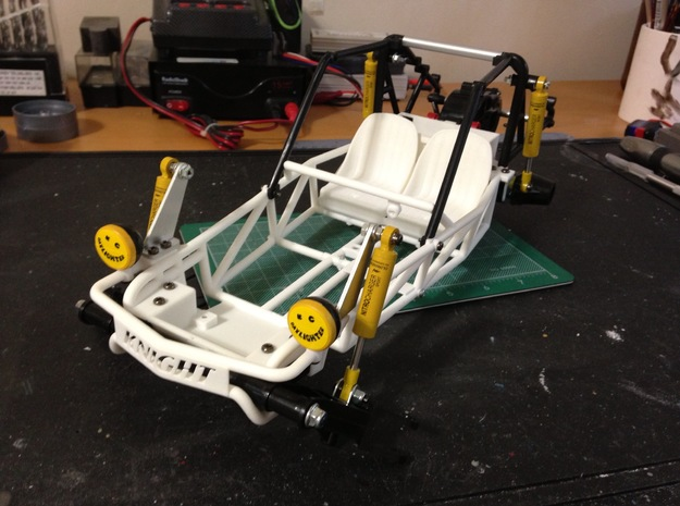 FA20003 Sand Rail Chassis Rear 3d printed Raw parts during assembly (other parts sold separately)