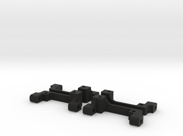 XXX IHB FULL SET (Independent Hinge Block) in Black Natural Versatile Plastic
