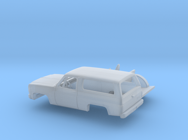 1/87 1973-79 GMC Jimmy Kit in Smooth Fine Detail Plastic
