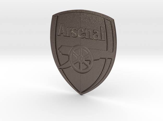 Arsenal Pendant in Stainless Steel