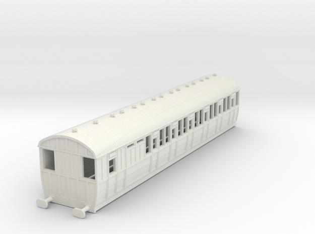 o-87-lner-quint-d85-brake-3rd-coach-5 in White Natural Versatile Plastic