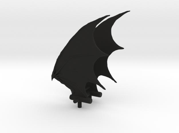 Andromeda Demon Wings in Black Strong & Flexible
