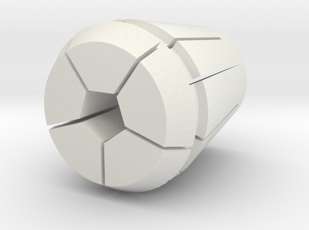 Collet-w-pen.34375 in White Strong & Flexible