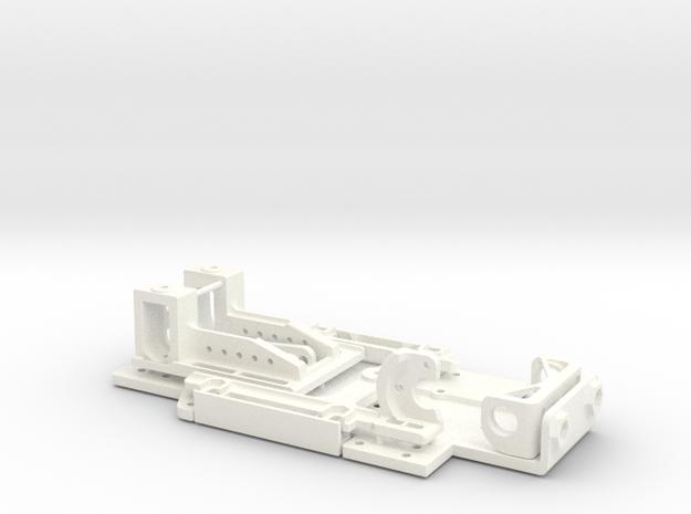 chasis pequeño slot 1_24 v1 completo in White Processed Versatile Plastic