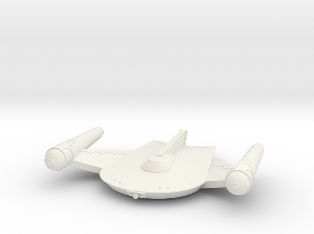 3788 Scale Romulan King Eagle Command Cruiser MGL in White Natural Versatile Plastic