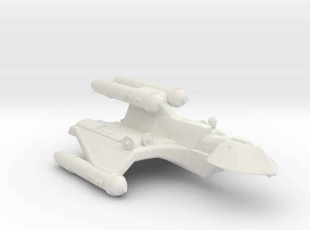 3788 Scale Romulan FireHawk-C+ Scout/Survey Ship in White Strong & Flexible