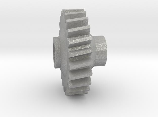 81C14 (1 part) v2 in Raw Aluminum