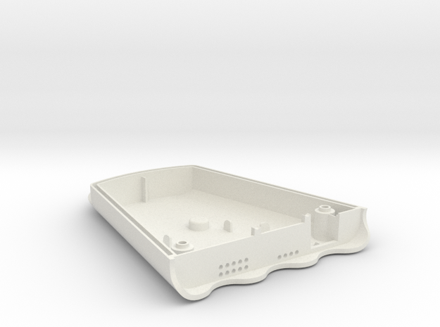 AirBeam2 Bottom in White Natural Versatile Plastic