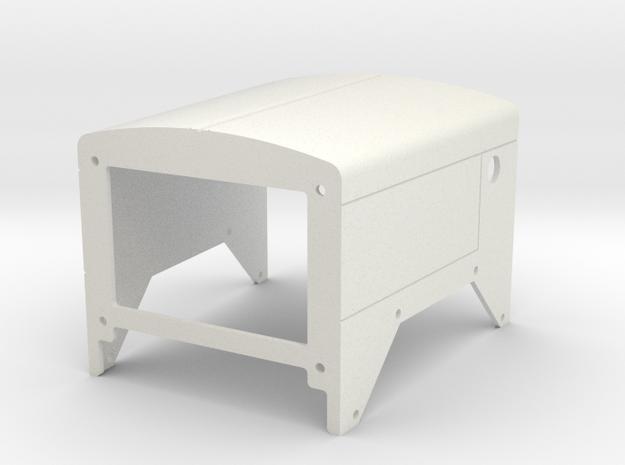 C500 Heavy Hauler Hood V1 in White Natural Versatile Plastic