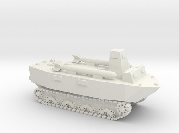 Japanese WWII Ka-Tsu tank 1/72 in White Natural Versatile Plastic