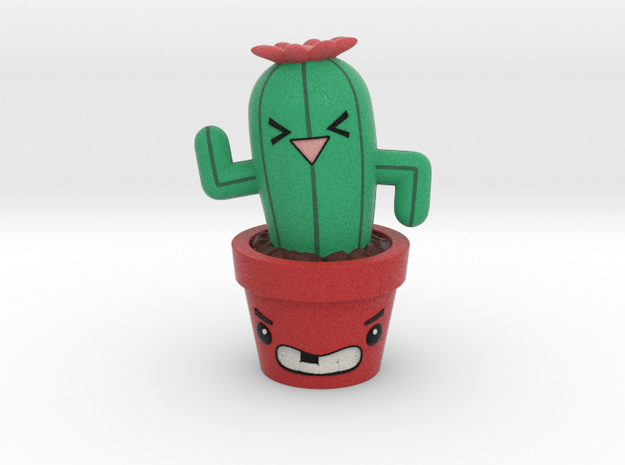 Cactus Desk Friend