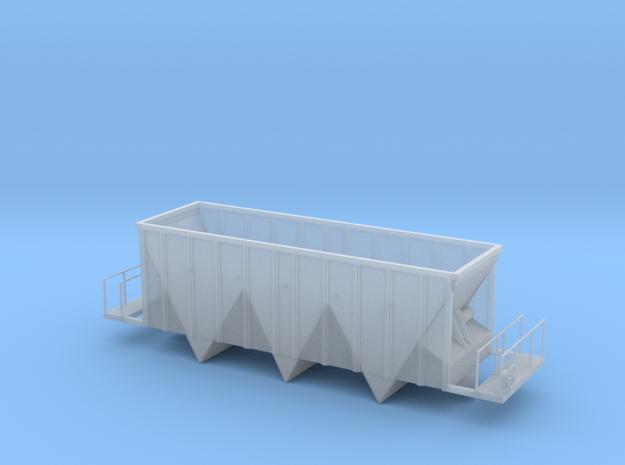 Aggregate Gondola II - HOscale in Smooth Fine Detail Plastic