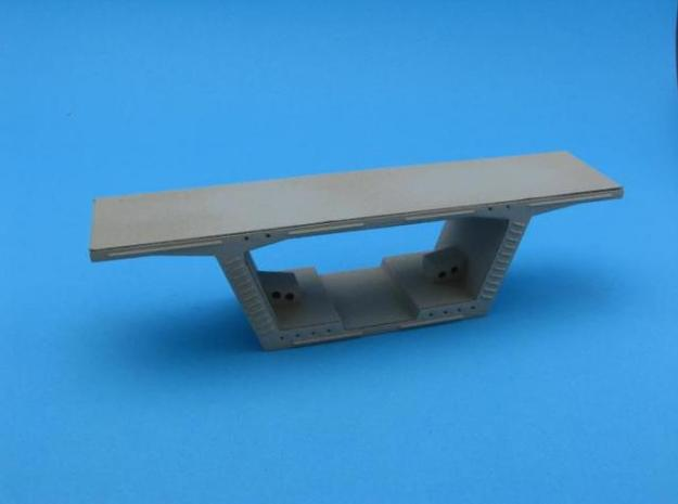 HO/1:87 Precast concrete bridge segment kit (small in White Natural Versatile Plastic