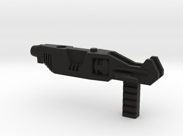 Rifle / Gun adapter for DX9 Carry Rodimus Prime in Black Natural Versatile Plastic