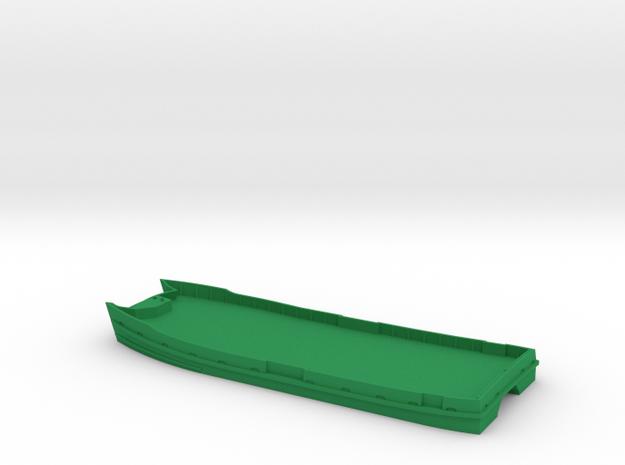 Sydney Ferry Waterline Hull in Green Processed Versatile Plastic
