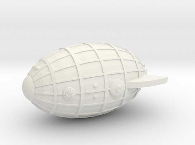 3125 Scale Chlorophon Birch Destroyer (DD) MGL in White Natural Versatile Plastic