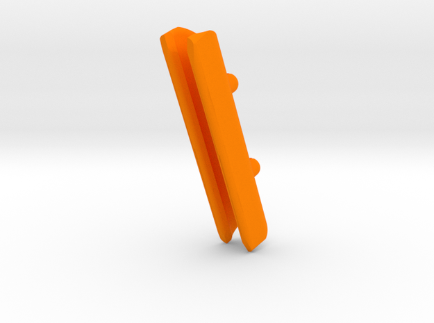 Precision 23 & DM330 74mm MastGate in Orange Processed Versatile Plastic