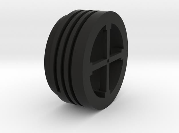 oeilleton spire v3 in Black Natural Versatile Plastic