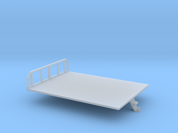 N scale 1/160 Morooka platform bed in Smooth Fine Detail Plastic