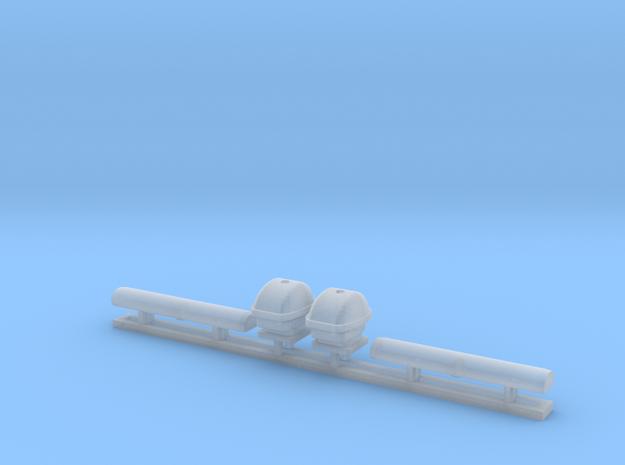Radarantenne klein 1:50 in Smoothest Fine Detail Plastic: 1:50