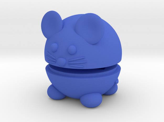 Pets Nesting Dolls - Mouse in Blue Processed Versatile Plastic