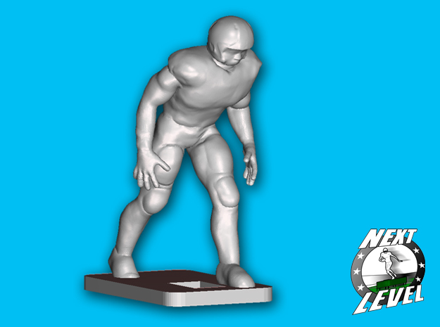 Right Side OLB / Tight - End (2.3g) in Smooth Fine Detail Plastic