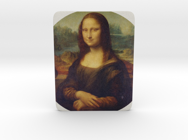 Mona Lisa in Full Color Sandstone