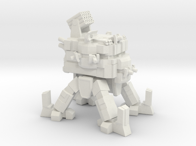 ICE Mech Anti-Inf in White Natural Versatile Plastic