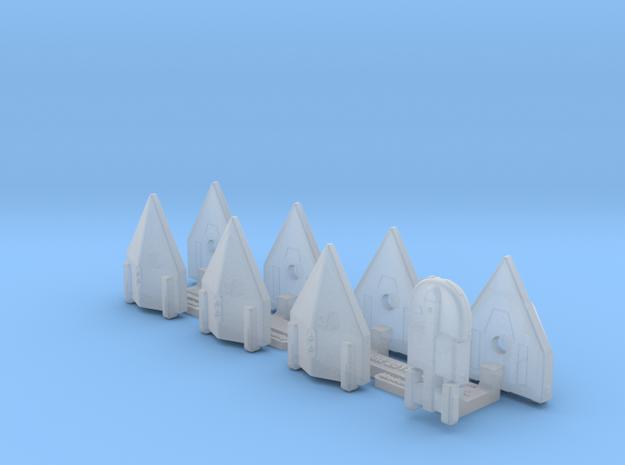 Omni Scale General Skiffs & Courier Flotilla WEM in Smooth Fine Detail Plastic