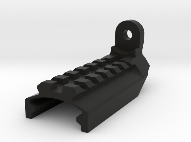 [Airsoft] KSC / KWA MK23 Rail mount in Black Natural Versatile Plastic