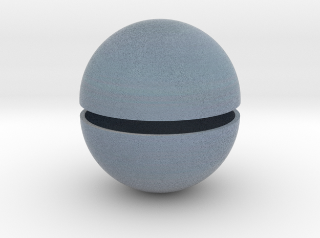 Uranus (Bifurcated) in Full Color Sandstone