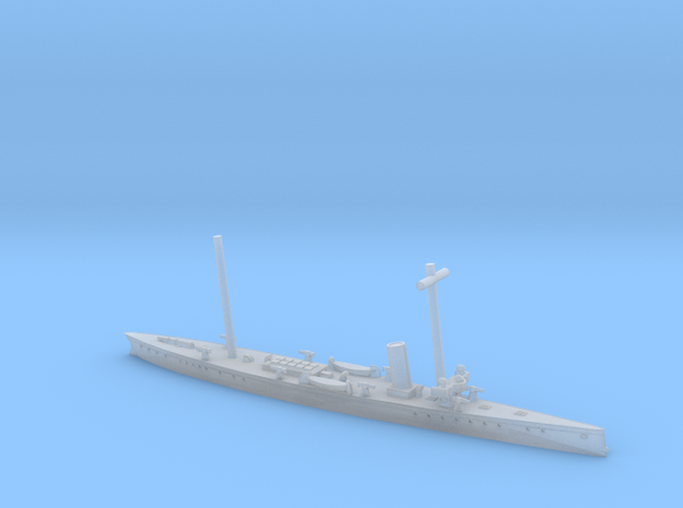 SMS Blitz 1/1250 (with mast) in Smooth Fine Detail Plastic