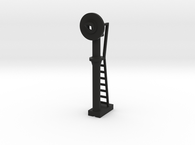Signal Searchlight - N 160:1 Scale in Black Natural Versatile Plastic