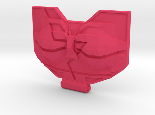 Garnetron Bot Chest in Pink Processed Versatile Plastic