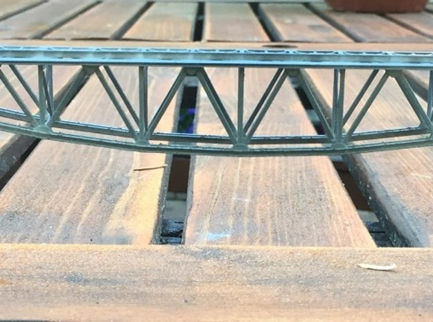 Bridge Z Scale 1:220 in Smooth Fine Detail Plastic