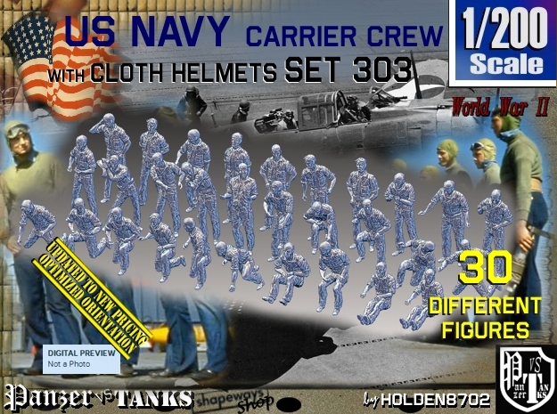 1/200 USN Carrier deck Set303